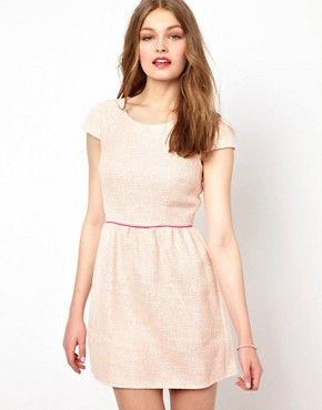Image 1 of A Wear Tweed Skater Dress