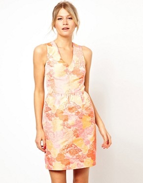 Image 1 of Oasis Jacquard Dress