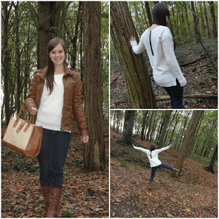 Clothes & Dreams: OOTD: Fall forest: collage of outfit