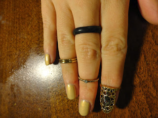 Clothes & Dreams: New in: above the knuckle rings and nail ring