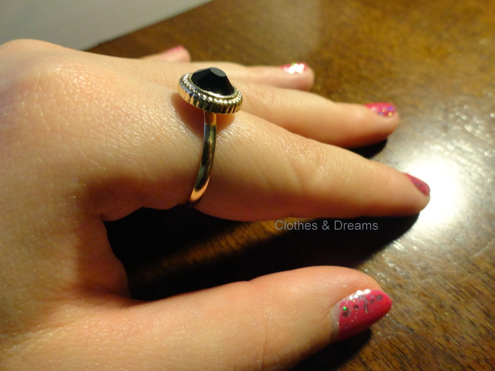 Clothes & Dreams: Self-rewarding feels so good! New ring H&M