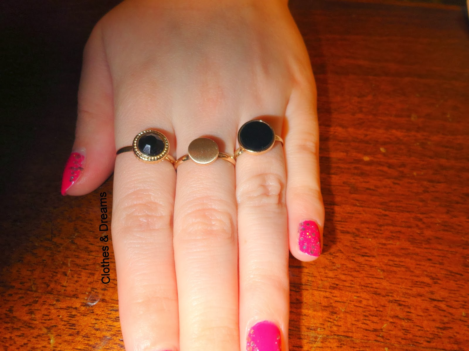 Clothes & Dreams: Self-rewarding feels so good! New rings