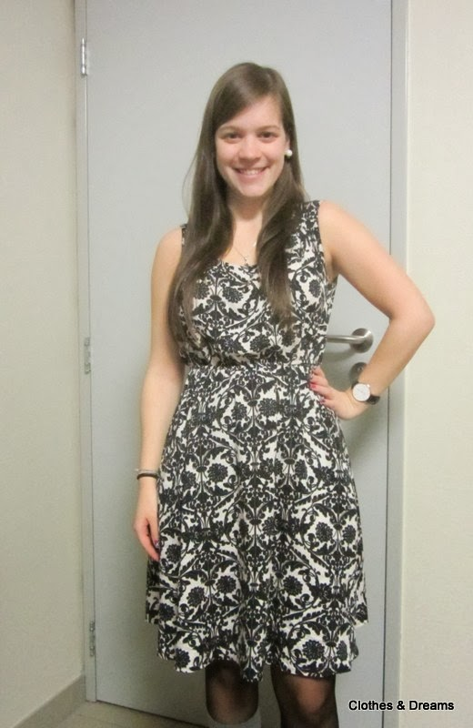 Clothes & Dreams: OOTD: Exam results: outfit Vila Santal dress