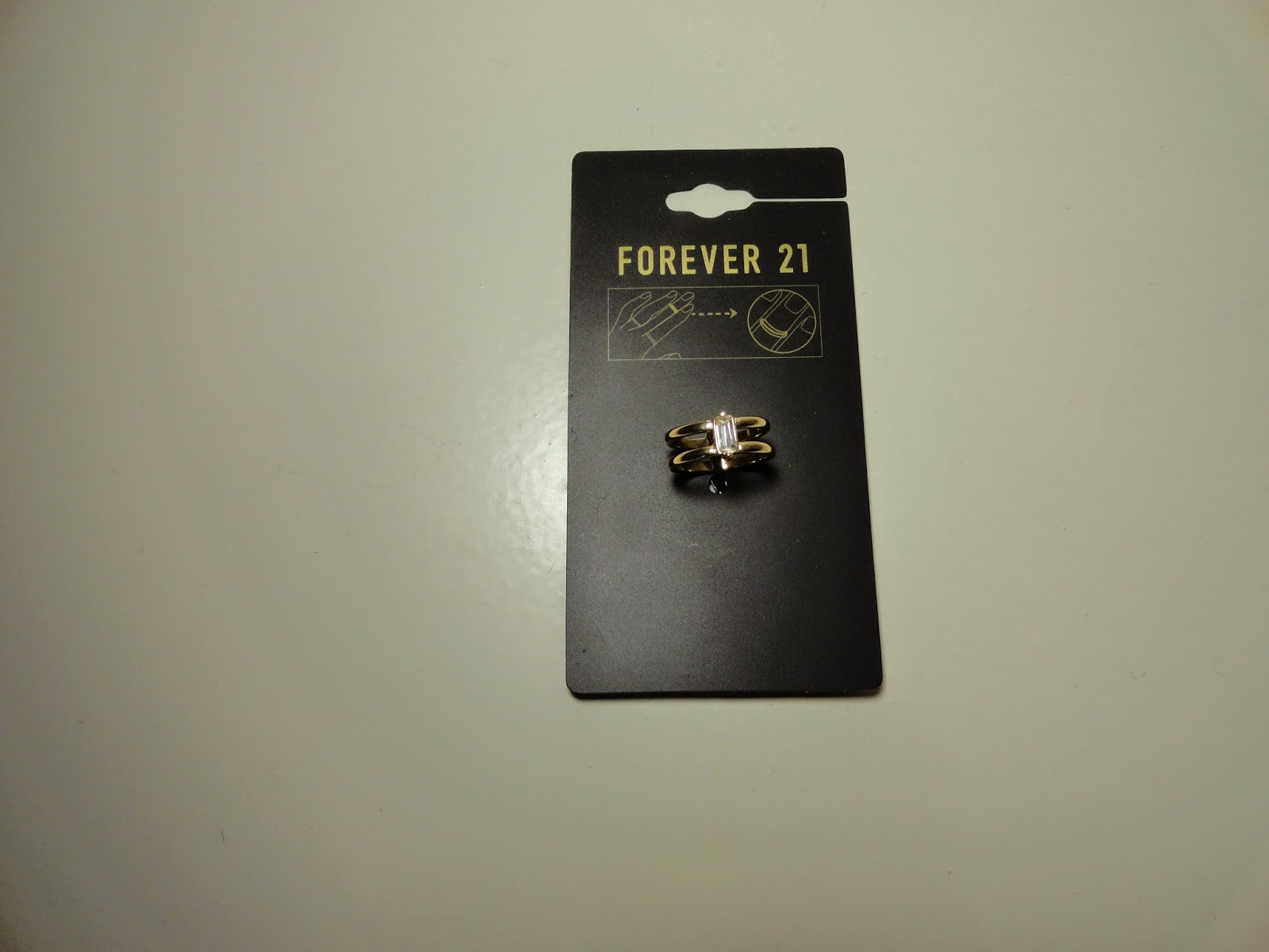 Clothes & Dreams: Shoplog: Forever21, Kruidvat and New Look: Forever21 above the knuckle ring