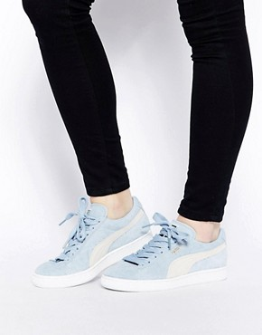 Puma Suede Classic Powder Blue Trainers