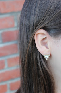 Clothes & Dreams: Ruffled: Romeo and Juliet earrings